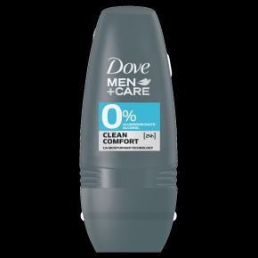 Dove Men+Care 0% Aluminium Clean Comfort Deodorant Roll-on 50ml