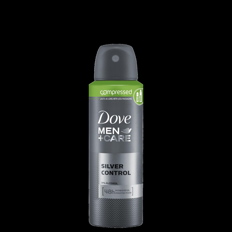 Dove Men Care Silver Control Compressed Antiperspirant