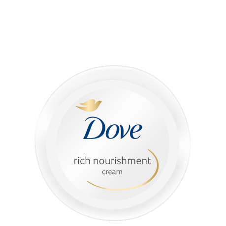 Dove Silky Nourishment Body Cream 75ml