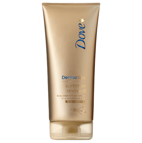 Dove DermaSpa Summer Revived Self Tanning Body Lotion Fair to Medium 200ml