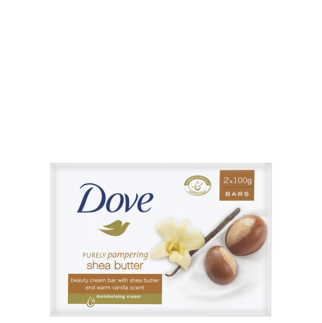 Dove Purely Pampering Shea Butter Beauty Bar 2x100g