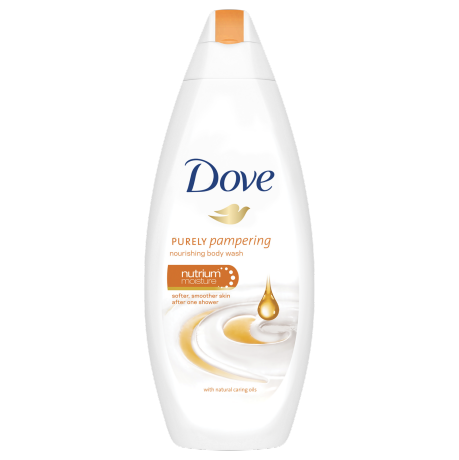 Dove Purely Pampering Natural Caring Oil Body Wash 250ml