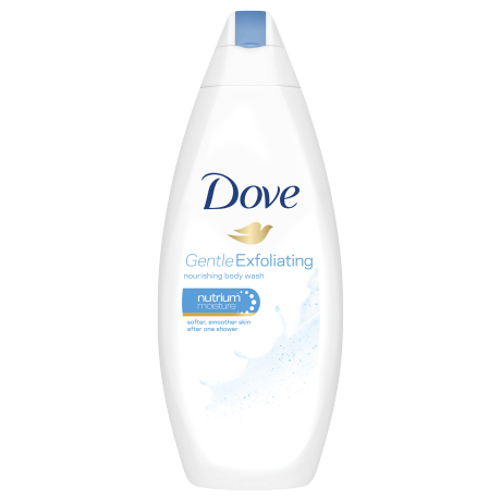 Dove Gentle Exfoliating Body Wash 250ml