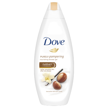 Dove Purely Pampering Shea Butter with Warm Vanilla Body Wash 250ml