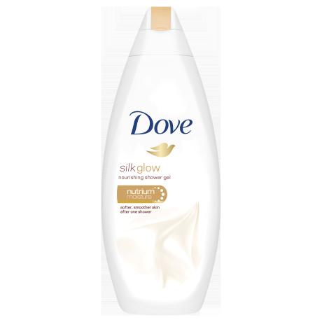 Dove Silk Glow Body Wash 250ml