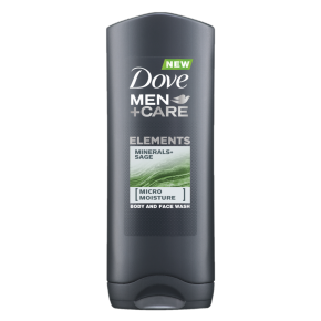 Dove Men+Care Minerals and Sage Body Wash 250ml