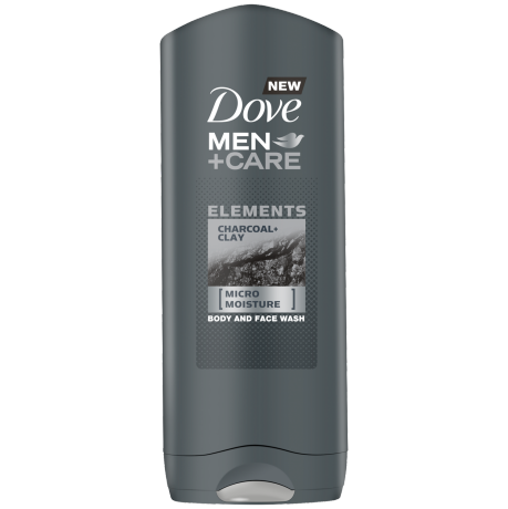 Dove Men+Care Charcoal & Clay Body Wash 250ml