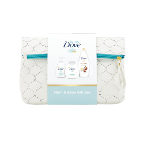 Baby Dove Mum and Baby Gift Set 200ml + 200ml + 500ml
