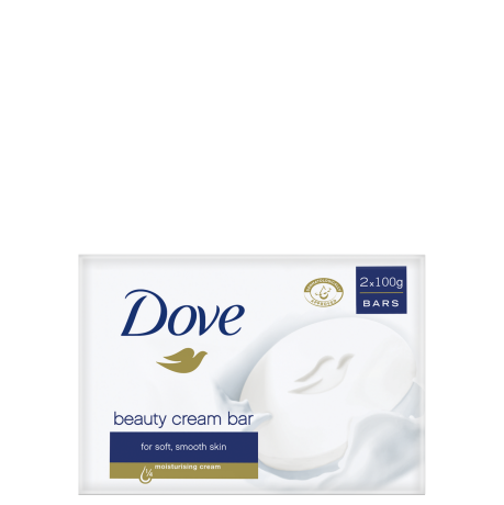 Dove Original Beauty Cream Bar 2x100g