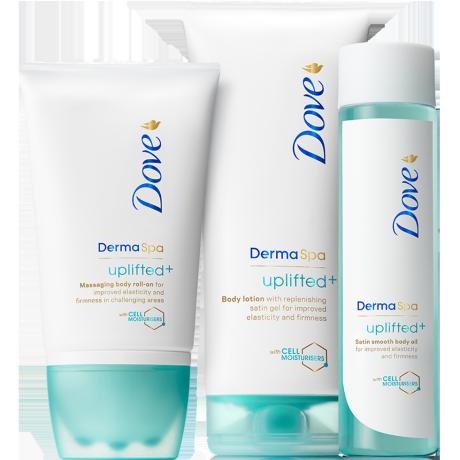Dove DermaSpa Uplifted+