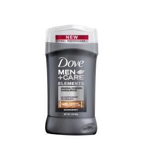 Dove Men+Care Elements Mineral Powder + Sandalwood Deodorant Stick 3.0 oz