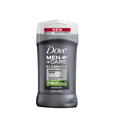Dove Men+Care Elements Minerals + Sage Deodorant Stick 3.0 oz