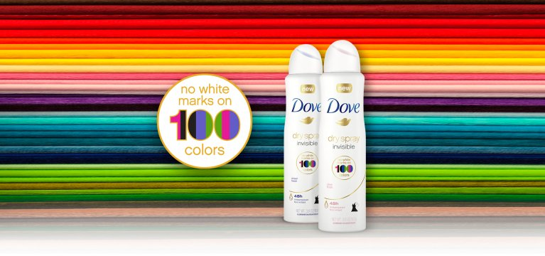Nuevo Dove Invisible Dry Spray