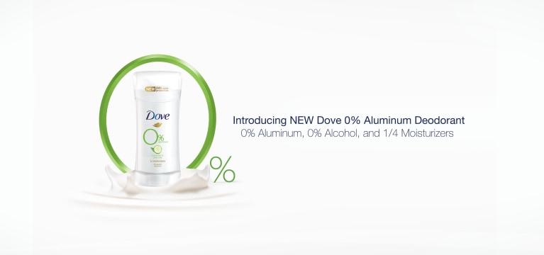 Dove 0% Aluminum Deodorant