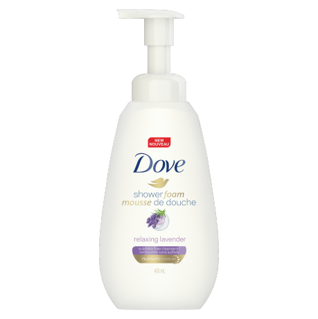 Dove Purely Pampering Relaxing Lavender Shower Foam