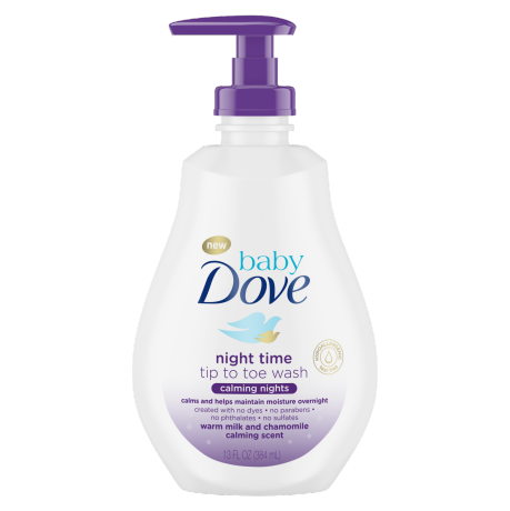 Baby Dove Calming Nights Tip to Toe Wash 13 oz