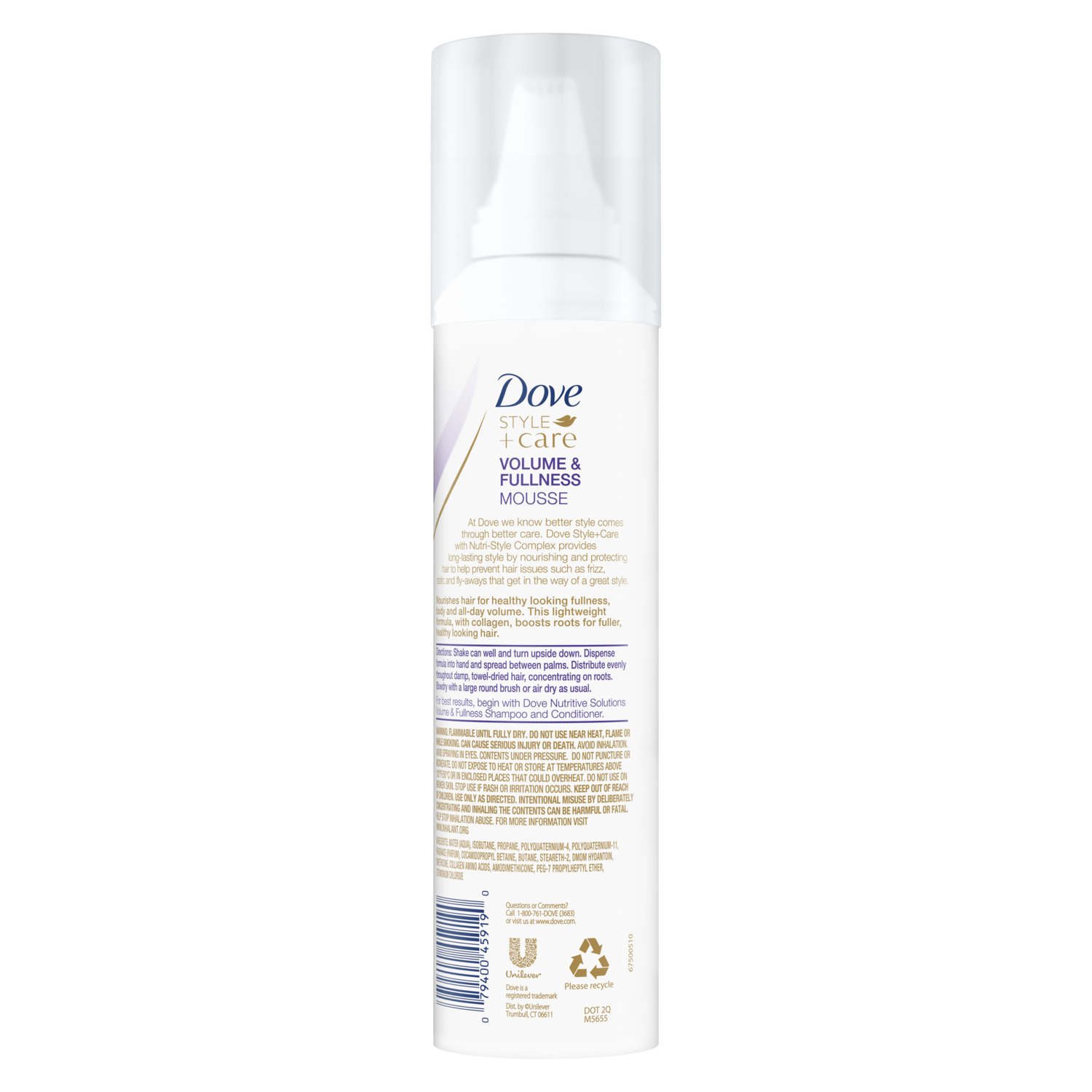 Dove Curls Defining Mousse