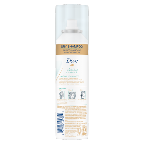 Dove Care Between Washes Invisible Dry Shampoo 5 oz