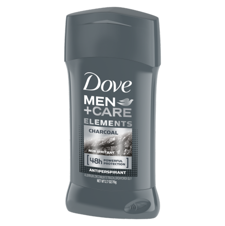 Dove Men+Care Antiperspirant Deododant Stick Charcoal 2.7 oz
