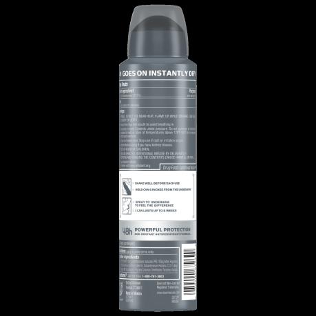 Dove Men+Care Stain Defense Dry Spray Antiperspirant Deodorant Fresh 3.8 oz back