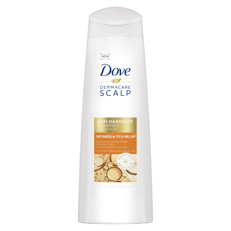 Dove Dermacare Scalp Dryness & Itch Relief Shampoo 12 oz