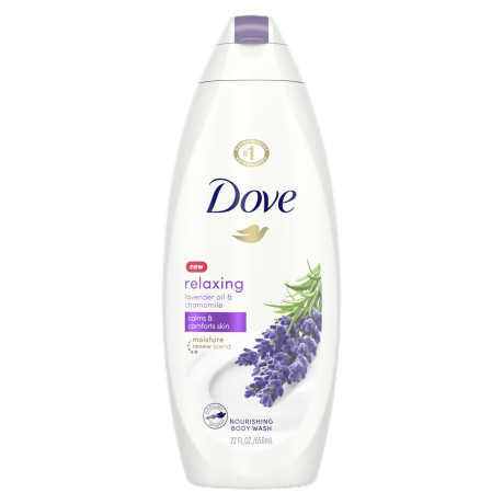 Relaxing Body Wash with Lavender and Chamomile 22 oz