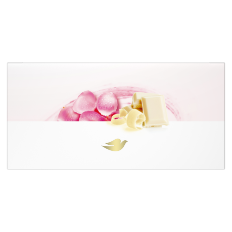 Dove Milk Swirls Bath Bomb Rosewater & White Chocolate 2x2.8oz