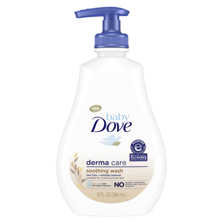 Baby Dove Derma Care Soothing Wash 13oz