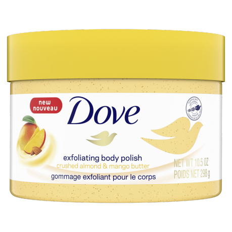 Dove Exfoliating Body Polish Crushed Almond and Mango Butter 298g