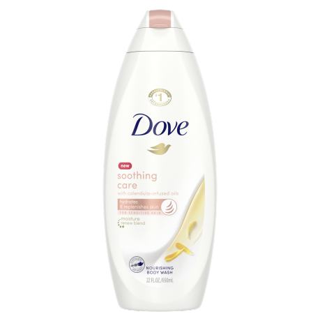 Dove Soothing Care Body Wash 22oz