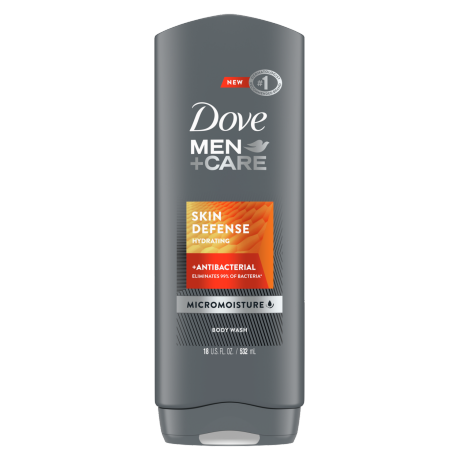 DOVE MEN+CARE GEL DE DUCHE SKIN DEFENSE 400ml