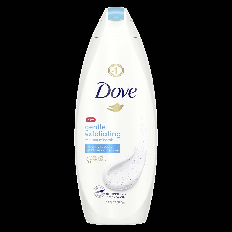 Dove Gentle Exfoliating Body Wash With Sea Minerals