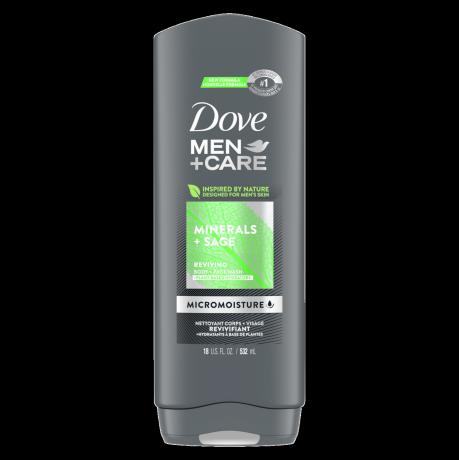 Dove Men+Care Minerals + Sage Body Wash 18 oz
