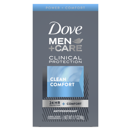 Dove Men+Care Clean Comfort Clinical Protection Antiperspirant 1.7 oz