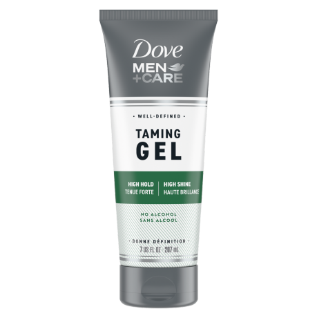 Dove Men+Care Alcohol-Free Taming Gel 355ml Front of Pack