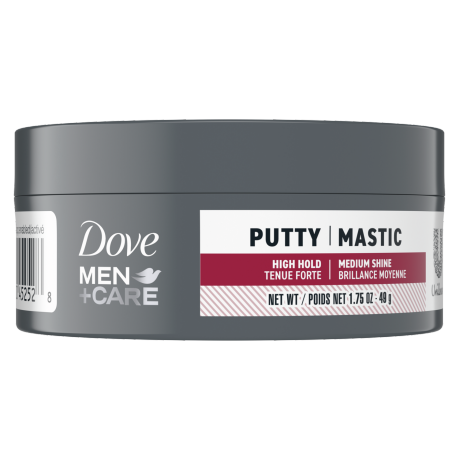 Dove Men+Care Thick & Full Shaping Putty Front of Pack
