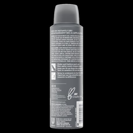 Antisudorifique en vaporisateur à sec Dove Men+Care Stain Defense Fresh 107 g dos