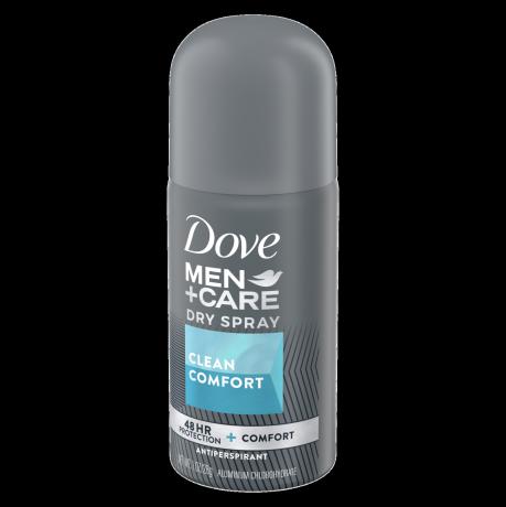 Dove Men+Care Dry Spray Antiperspirant Deodorant Clean Comfort 1 oz