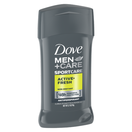 Dove Men+Care SPORT Antiperspirant Deodorant Stick Active+Fresh 2.7 oz