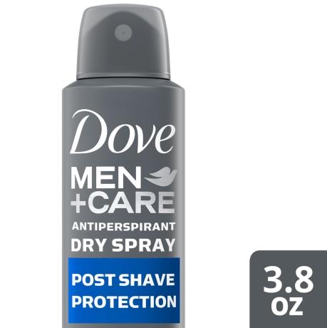Dove Men+Care Post Shave Post Shave Dry Spray Antiperspirant 3.8 oz simple