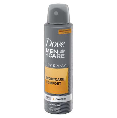 Dove Men+Care SportCare Comfort Dry Spray Antiperspirant 3.8 oz back
