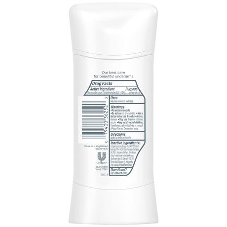 Dove Advanced Care Original Clean Antiperspirant 2.6 oz