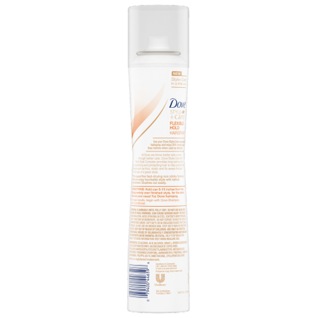 Dove Style+Care Compressed Flexible Hold Hair Spray 5.5oz