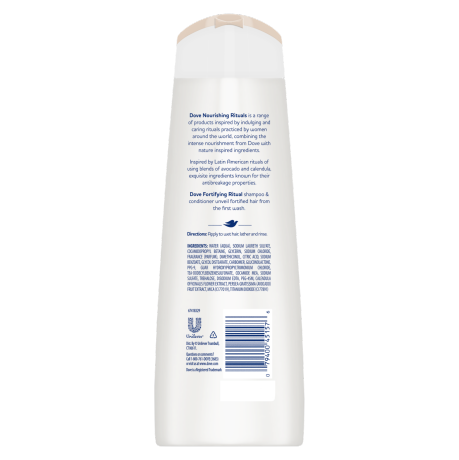 Dove Nourishing Secrets Fortifying Shampoo 12oz