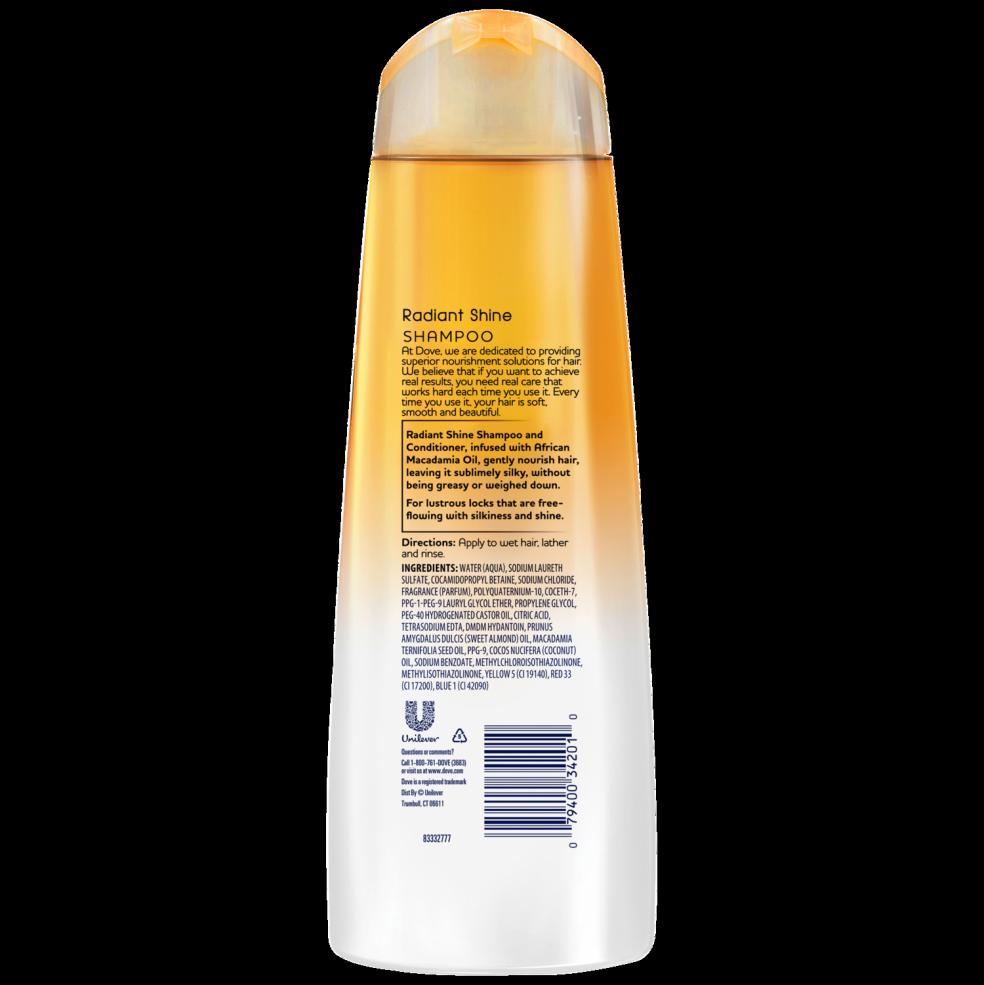 dove daily moisture shampoo