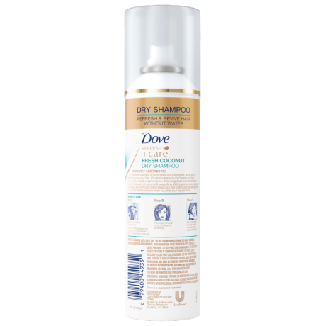 Dove Refresh+Care Fresh Coconut Dry Shampoo 5oz