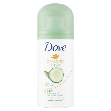 Dove Go Fresh Dry Spray Cool Essentials Antiperspirant