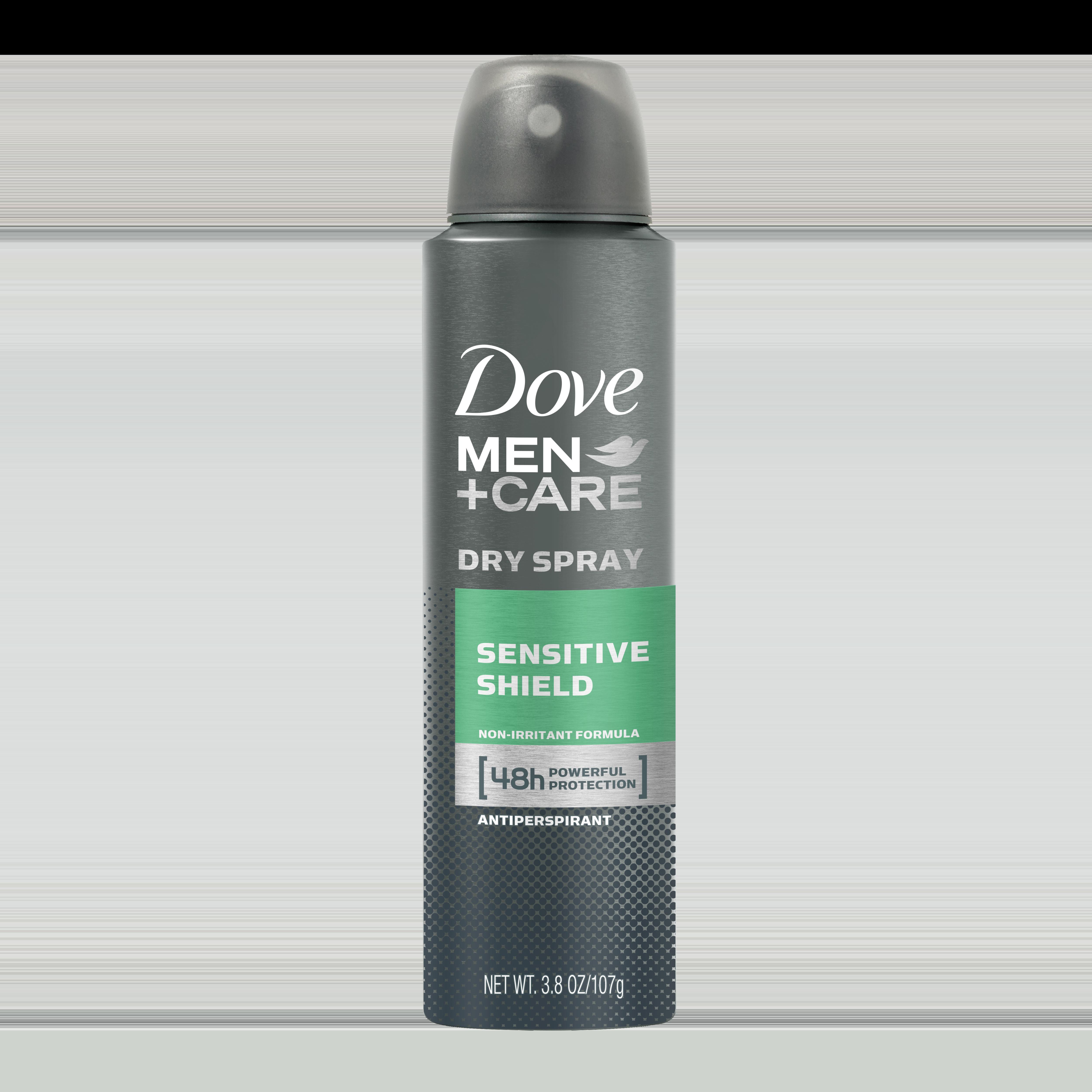 Dove Men Care Sensitive Shield Dry Spray Antiperspirant