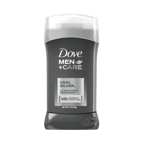 Dove Men+Care Cool Silver Deodorant Stick 3 oz