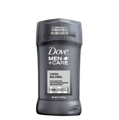 Dove Men+Care Cool Silver Antiperspirant Stick 2.7 oz